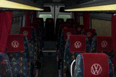 Przewóz osób Volkswagen Crafter