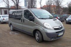Przewóz osób Opel Vivaro